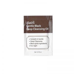 Klairs Gentle Black Deep Cleansing OiL 3ml