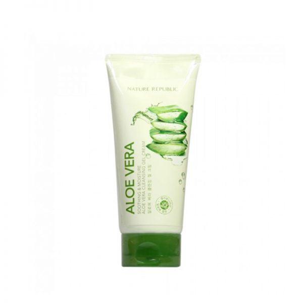 Nature Republic Soothing & Moisture Aloe Vera Cleansing Gel Foam 150ml