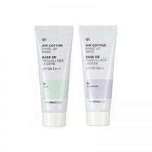 The Face Shop Air Cotton Makeup Base SPF 30 PA++