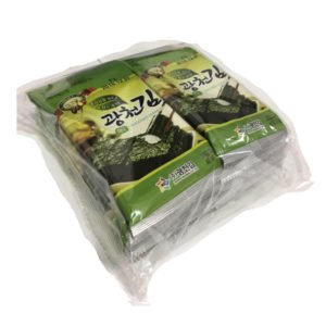 Seasoned Seaweed kIm/Nori- Olive Oil (Mini Dosirak) 2g X 10pcs