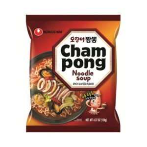 Nongshim Champong Noodle Soup (Spicy Seafood Flavor) 124g