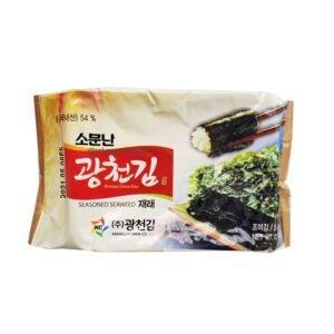 Kwang Cheon Kim Seasoned Seaweed Jaerae 5g Nori