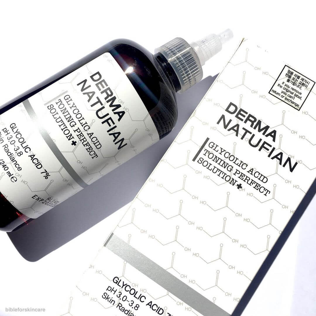 Derma Natufian Glycolic Acid Toning Perfect Solution+ – Review #1
