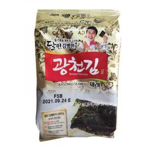 Kwang Cheon Kim Seasoned Seaweed Jaerae 4g Nori