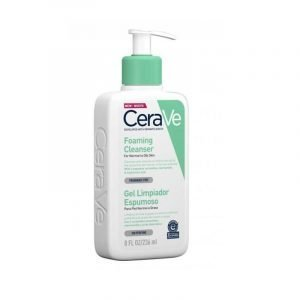 CERAVE Foaming Cleanser (For Normal to Oily Skin) 236ml/8 Fl Oz