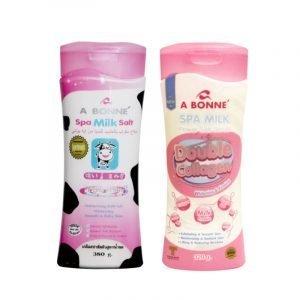 bonne Spa Milk Salt and Double Collagen 380g/320g