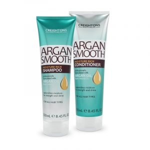 Creightons Argan Smooth Moisture Rich Shampoo or Conditioner 250mL