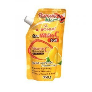 Abonne Papaya & Lemon Spa White C Salt 350g [AUTHENTIC from THAILAND]